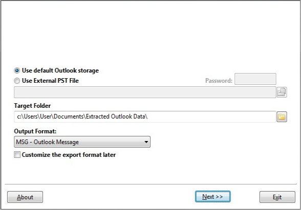 Export Outlook Contacts and Emails